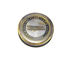 Straightforward Maritime Compass Sundial Navigation Camping Vintage Clocks Maritime