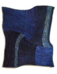 Frank Connet – Spiral Square #11. Sculpture textile. Les sculptures de Frank Connet mélangent les genres, les techniques et les matériaux. Entre tradition et réinvention, l'oeuvre de l&…