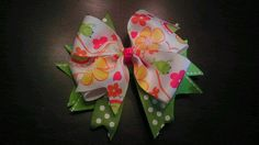 Frog and Flower Pinwheel by AmalieBowtique on Etsy, $5.99