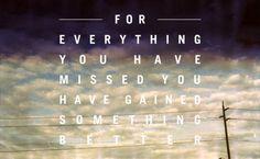 Everything missed.