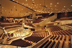 ベルリンフィルハーモニーコンサートホール/ハンス・シャロウン/1963/ドイツ/人の自然な動き/未整理