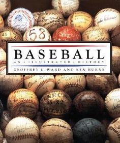 Baseball: An Illustrated History. Geoffrey C. Ward and Ken Burns. Ken Burns, Take Me Out, Used Books, Baseball, History, Reading, Illustration, Film, Music