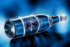 Perlage glass botlle on Behance
