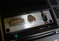 Sony Betamax Model LV-1901