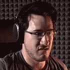Markiplier Scared in Five Nights at Freddy's – GIF by GEEKsomniac.devia… on Pewdiepie, Markiplier Gif, Youtubers, S Gif, Scary Games, Freddy 's, Fnaf 1, Youtube Gamer, Septiplier