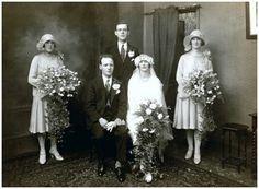 1928 Wedding Party