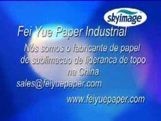 Papel de transferencia de sublimacao para impressao Poliester