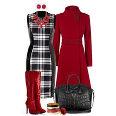 """Plaid Fall Outfit"" by angela-windsor on Polyvore"