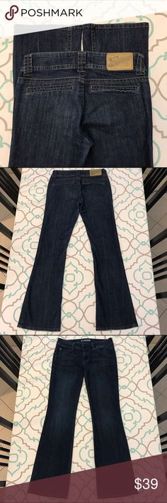 "💙👖Beautiful Vigoss Jeans👖💙27 3/4 Dark! Dressy! 💙👖Beautiful Vigoss Studio Jeans👖💙Size 27 (3/4). 31.25"" Inseam. 8.25"" Rise. 14.5"" Across the Back. Great Stretch. Boot Cut. Mid Rise Waist. Dark Wash. Very Light Fray. Almost No Fading. Faux Back Pockets. Dressy Jean. Perfect for Casual Friday at the office. Wear from work straight into Date Night. Beautiful! Love! Ask me any questions! : ) Vigoss Jeans Boot Cut"