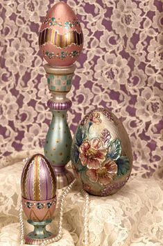 Dazzling Easter Eggs Deccor