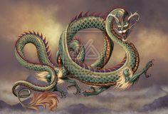 EASTERN DRAGON by SMorrisonArt on deviantART