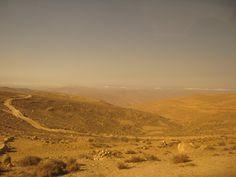 Jordan countryside.