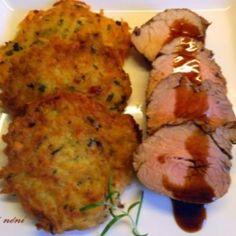 szűzpecsenye receptek | NOSALTY Atkins, Tandoori Chicken, Baked Potato, Paleo, Pork, Ethnic Recipes, Kale Stir Fry, Beach Wrap, Baked Potatoes