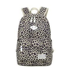 Large-Capacity Fashion Leopard Print High-Quality Backpack 6 Colors