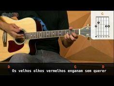 """Video aula de violão com o Patrick Blancos do CifraClub com a música """"Olhos Vermelhos"""" – Capital Inicial."""