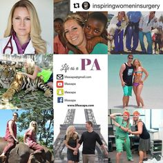 Thanks @inspiringwomeninsurgery!! What a heartfelt and amazingly written post!  I'm in awe of your writing talent.  You da bomb girl #womeninmedicine #inspiringwomeninsurgery #lifeasapa #whitecoat #premed #physicianassistant #paschool #futuredoctor