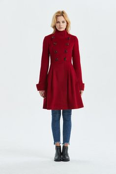 d344b0add63 23 Best Fit and Flare Coat images