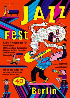 Jazz04 – Plakat – Wagenbreth