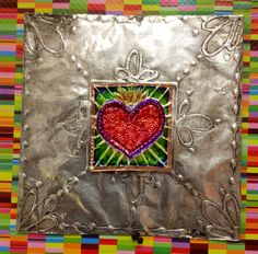 mexican art for kids - - Yahoo Image Search Results Hispanic Art, Tin Art, Tin Foil Art, 5th Grade Art, Valentines Art, Art Lessons Elementary, Arte Popular, Mexican Folk Art, Art Lesson Plans