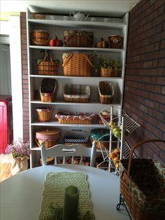 Some of my many longaberger baskets