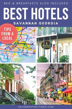 Get the scoop from a local on the best places to stay in Savannah's Historic District. Learn which areas are more residential, where to find the nightlife zone, and which areas are most romantic.   savannahfirsttimer.com #savannah #savannahftg