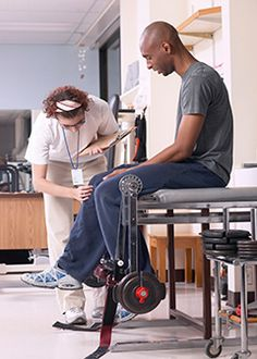Athletic trainers work with athletes to prevent, diagnose, and treat muscle and bone injuries and illnesses.