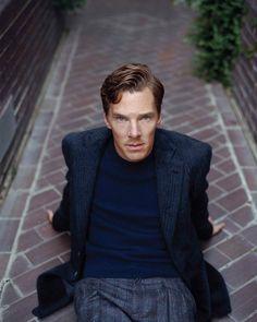 He looks amazing. Benedict Cumberbatch 💙
