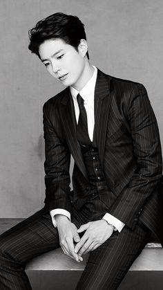 """""""park bogum for kakao page ✧ first love bogum vs. Hot Korean Guys, Korean Men, Asian Men, Asian Boys, Asian Actors, Korean Actors, Korean Dramas, Most Beautiful Faces, Beautiful Men"""