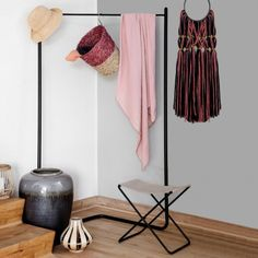 Corner Clothes Rail | Chest Of Drawers & Wardrobes | Graham & Green