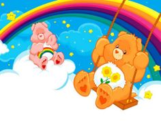 The Care Bears could change the world with a good Care Bear Stare. Which Care Bear are you? Care Bears, Care Bear Birthday, Care Bear Party, 2nd Birthday, Bear Images, Bear Pictures, Pictures Images, Happy Birthday Wishes Cousin, Cartoon Conspiracy