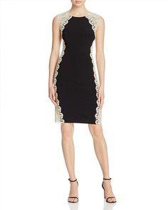 238.00$  Buy now - http://vidgu.justgood.pw/vig/item.php?t=ipd2ft50248 - AQUA Contrast Lace Dress