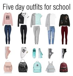 """""""Untitled #15"""" by martalalic on Polyvore featuring Topshop, NIKE, Accessorize, adidas, Marc Jacobs, Zoe Karssen, Hollister Co., H&M, WithChic and Yves Saint Laurent"""