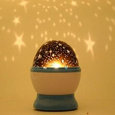 Rotation nice cute Starry Star Moon Sky Romantic Night Projector Light Lamp DragonElf http://www.amazon.com/dp/B00OFPNSJ6/ref=cm_sw_r_pi_dp_Zcewub15C69Y4