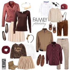 outfit na rodinné fotenie