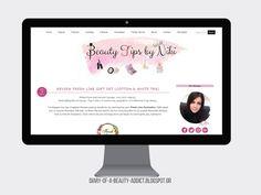 Νέα σχεδίαση blog: Beauty Tips by Niki