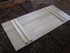 How to solve issue of IKEA Lerberg trestle legs moving about with Gerton beech table top...