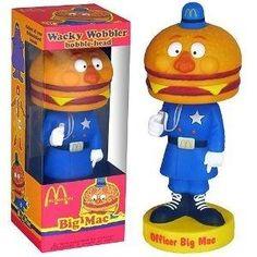 McDonald's Big Mac Bobble Head Big Mac, Breaking Bad, Mcdonalds, Nightmare Before Christmas, Minis, Sonic The Hedgehog, Bratz Girls, Mystery, Wacky Wobbler