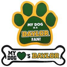 #SicEm, Baylor dogs!