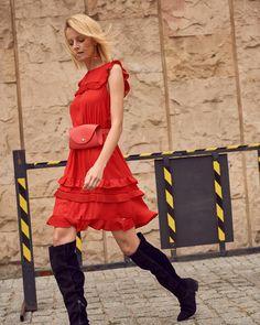 Street View, Top, Dresses, Fashion, Vestidos, Moda, Fashion Styles, Dress, Fashion Illustrations