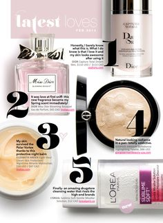 Latest Loves: February 2014 — Beautezine