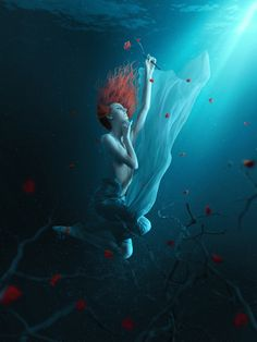 Create a Fantasy Underwater Scene with Photoshop - 30 Eye-Catching Photoshop Tutorials for Designers