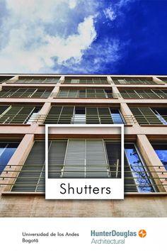 Hunter Douglas, Shutters, Trends, Architecture, Style, Facades, Blinds, Arquitetura, Swag