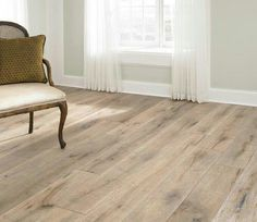 Light wood floor