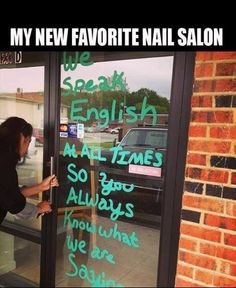 My new favorite nail salon
