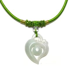 19.98 Etertiny Carved Jadeite Jade Buddhist Symbol Amulet Necklace, Pendant 40x32x4 mm, 40 cm Necklace - Fortune Jade Buddha Jewelry by Feng Shui & Fortune Jewelry, http://www.amazon.co.uk/dp/B00DHJO2NM/ref=cm_sw_r_pi_dp_rd0Wrb0GE0GXN