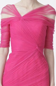 Not a pink fan but In another color, yes. Monique Lhuillier, Pre-Spring 2013