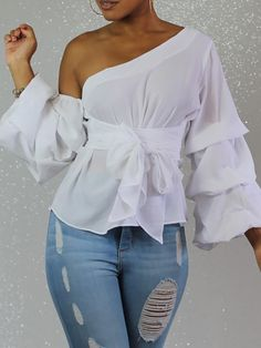 Women S Fashion South Yarra Stylish Work Outfits, Chic Outfits, Fashion Outfits, Womens Fashion, Diy Clothes And Shoes, Short African Dresses, Fancy Tops, Couture Tops, White Fashion