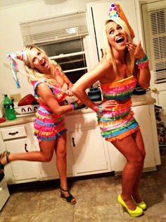 Piata costume...drop candy wherever you go! :) love it!