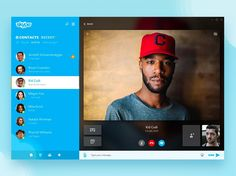 Our pick for today: Skype Redesign by Skan Gursky  Want to be featured on our page? Learn more: uitrends@gmail.com  #videocall #skype #redesign #materialdesign #ui #interface #usability #navigation #ux #uxdaily #userexperience #webexperience #www #theweb #awwwards #call #videos #facetime #uidaily #uifeed #inspiration #creativity #adaptation #modernweb #digitaltrends #uitrends #creativeminds #pixels