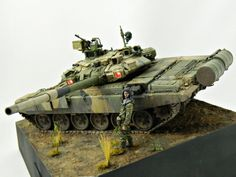 T-90A 1/35 Scale Model
